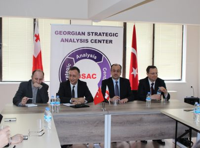 "Meeting/Discussion between the representatives of the Turkish government and the Georgian experts Round table ""Regional Security"""