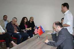 "Meeting with the new participants of the ""National Security and Media Communications"" program"