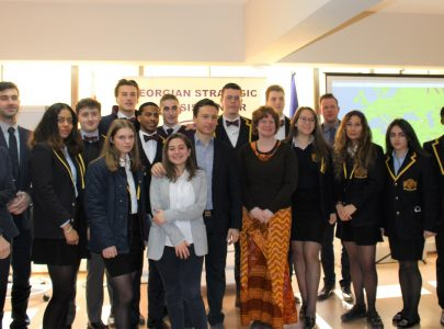 Meeting with students of Buckswood from the UK