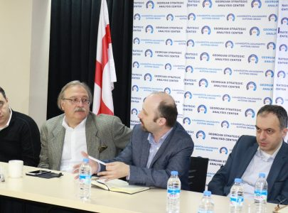 Meeting of NGOs with the presidential candidate, Grigol Vashadze