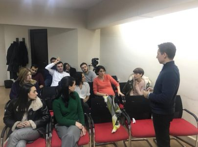 Giorgi Targamadze's meeting with the students about the second round of the presidential elections