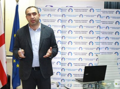 Vladimir Bozhadze's lecture on the transformation of electoral system and its issues in Georgia