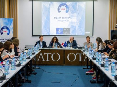 Opening of Media Training Project in NATO liaison office Tbilisi