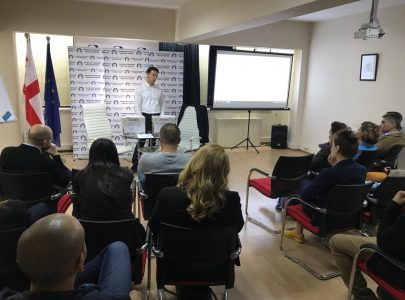 Giorgi Targamadze's lecture on the methods of forecasting the results of the elections