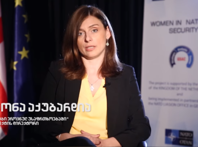 """Motivational Video – Teona Akubardia, Director of the project """"Women in National Security"""""""
